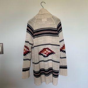 Olive & Oak Sweaters - Olive and Oak Tribal Print Cardigan Size Medium